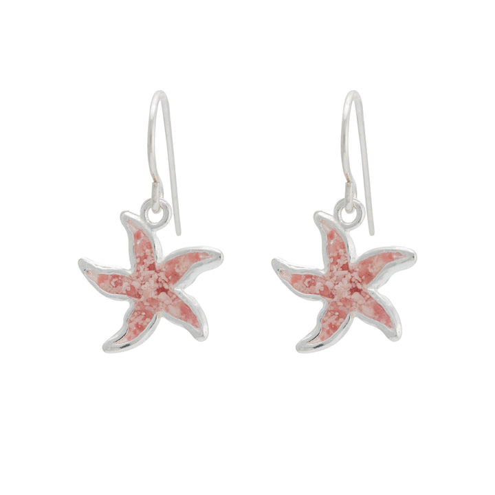 Splash Collection - Petites | Small Starfish Dangle Earrings