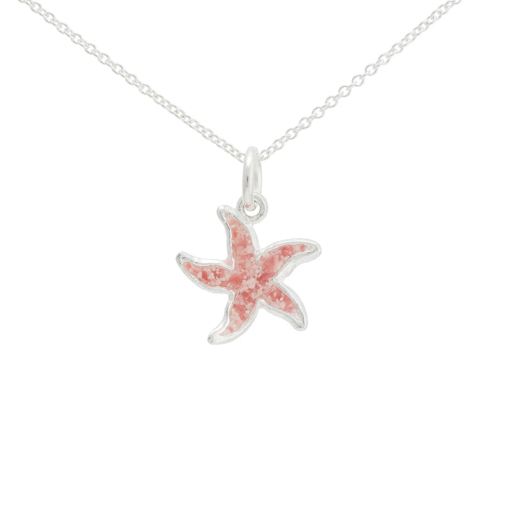 Splash Collection - Small Starfish Pendant