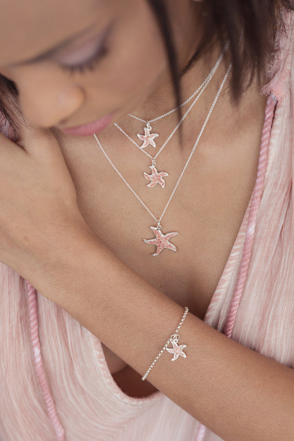 Friends ~ Starfish (Small) Bracelet - Alexandra Mosher Studio Jewellery Bermuda Fine