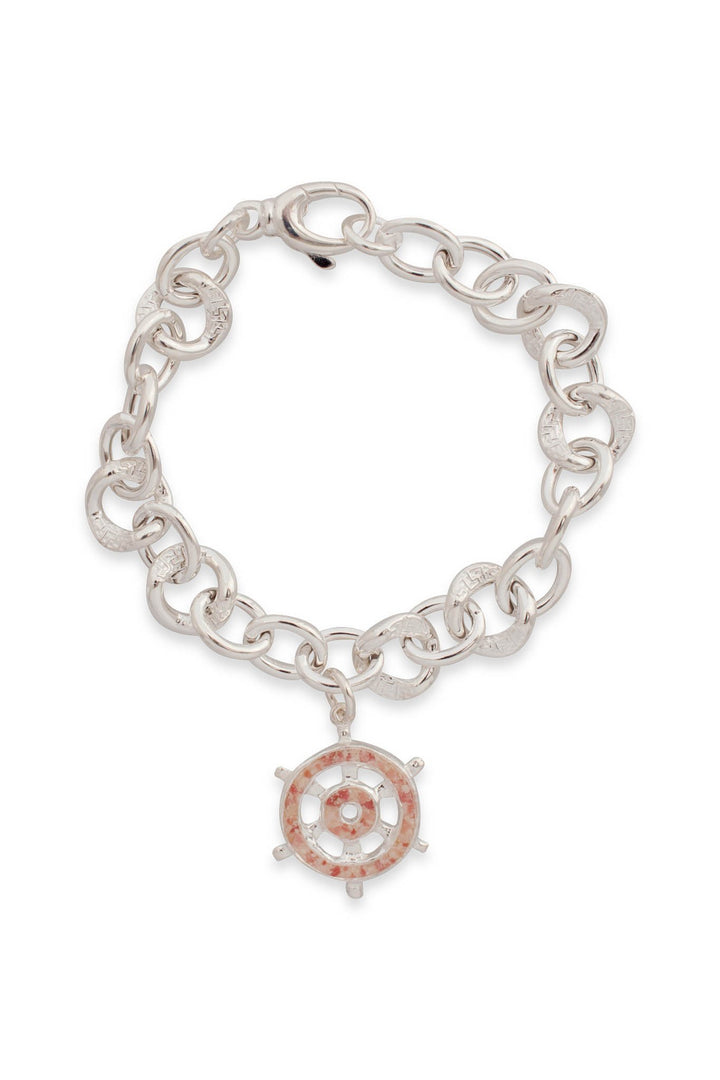 Splash Collection | Sea Venture Ships Wheel Chunky Bracelet