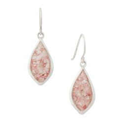 Splash ~ Teardrop (Large) Dangle Earrings - Alexandra Mosher Studio Jewellery Bermuda Fine