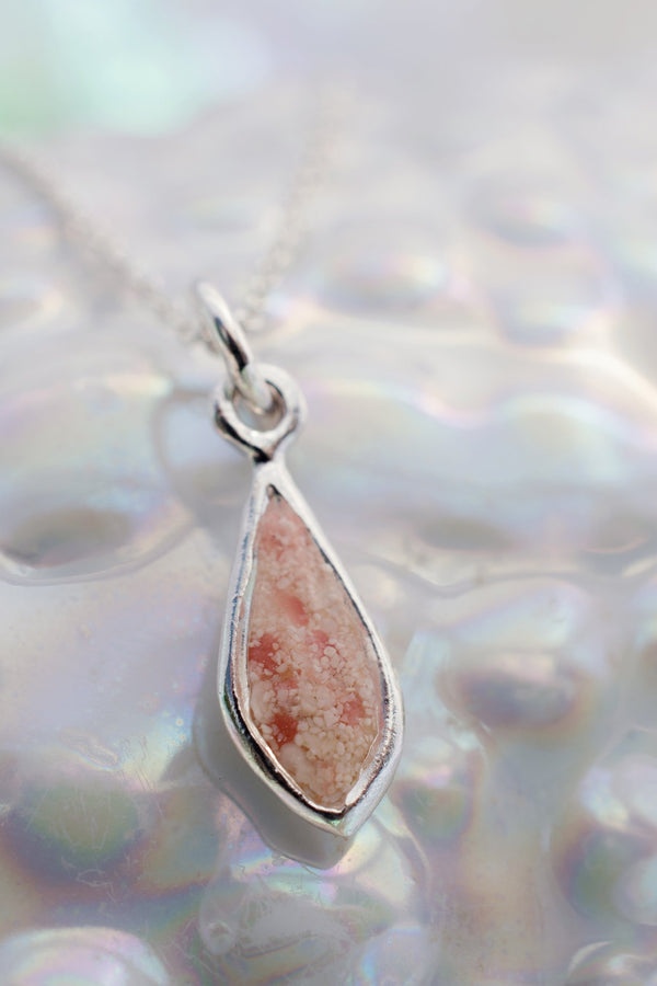 Splash ~ Small Teardrop Pendant - Alexandra Mosher Studio Jewellery Bermuda Fine