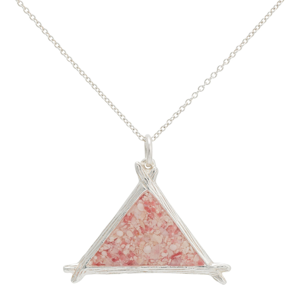 Splash Collection | Large Triangle Pendant