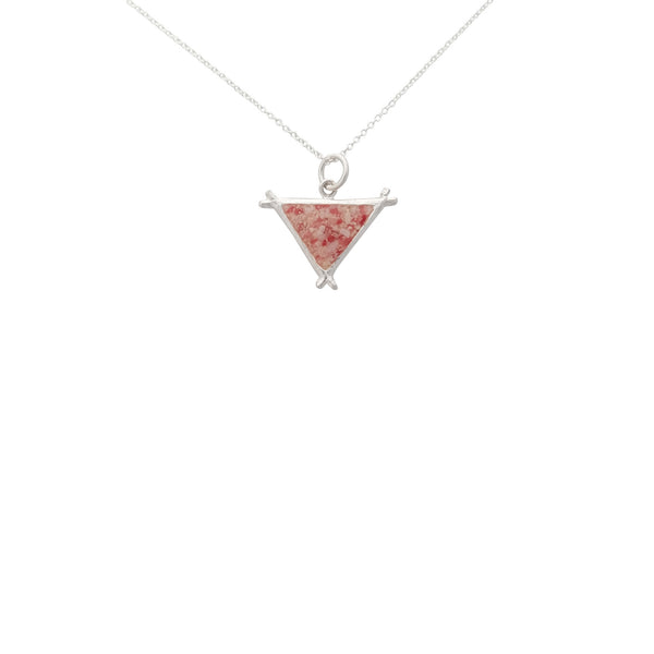 Splash ~ Triangle (Medium) Pendant - Alexandra Mosher Studio Jewellery Bermuda Fine