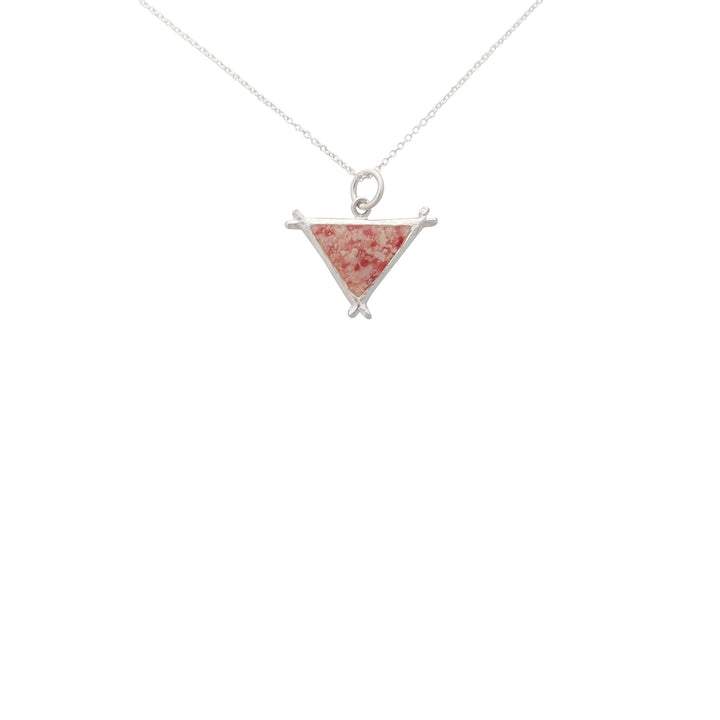 Splash Collection | Medium Triangle Pendant