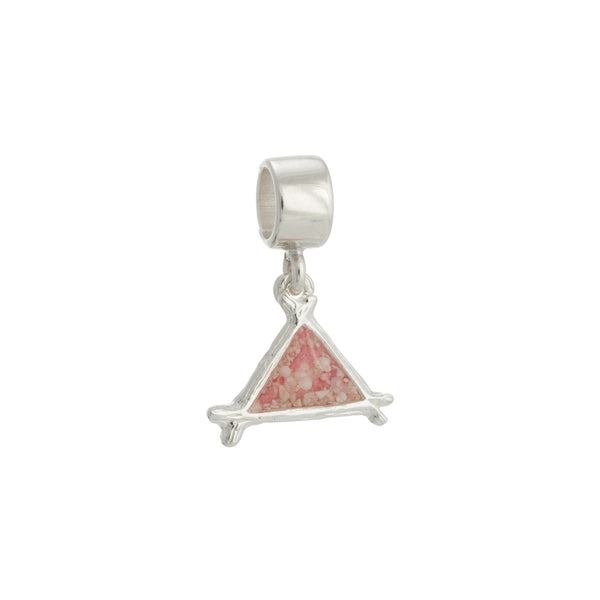 Splash ~ Triangle (Small) Charm - Alexandra Mosher Studio Jewellery Bermuda Fine