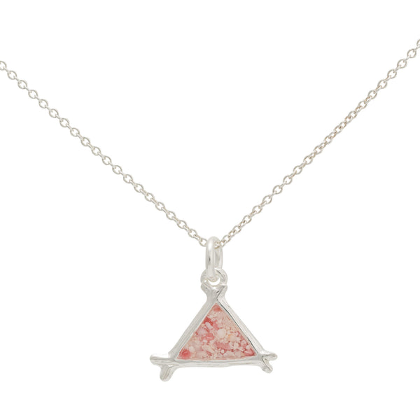 Splash ~ Small Triangle Pendant - Alexandra Mosher Studio Jewellery Bermuda Fine