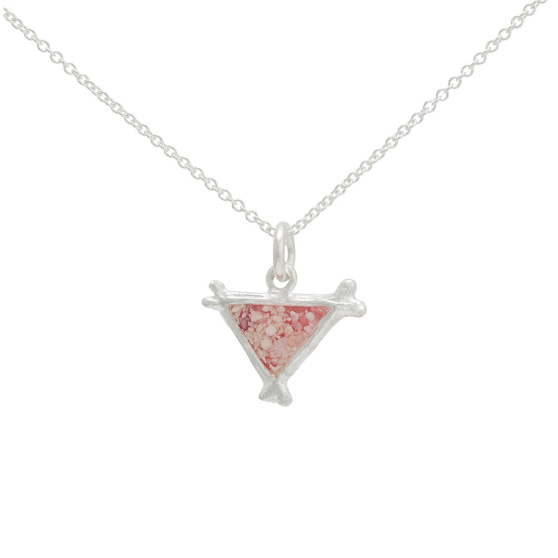 Splash ~ Triangle (Small) Pendant - Alexandra Mosher Studio Jewellery Bermuda Fine