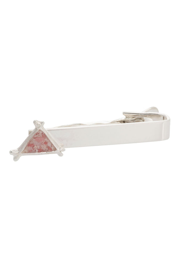 Splash ~ Triangle Tie Bar - Alexandra Mosher Studio Jewellery Bermuda Fine
