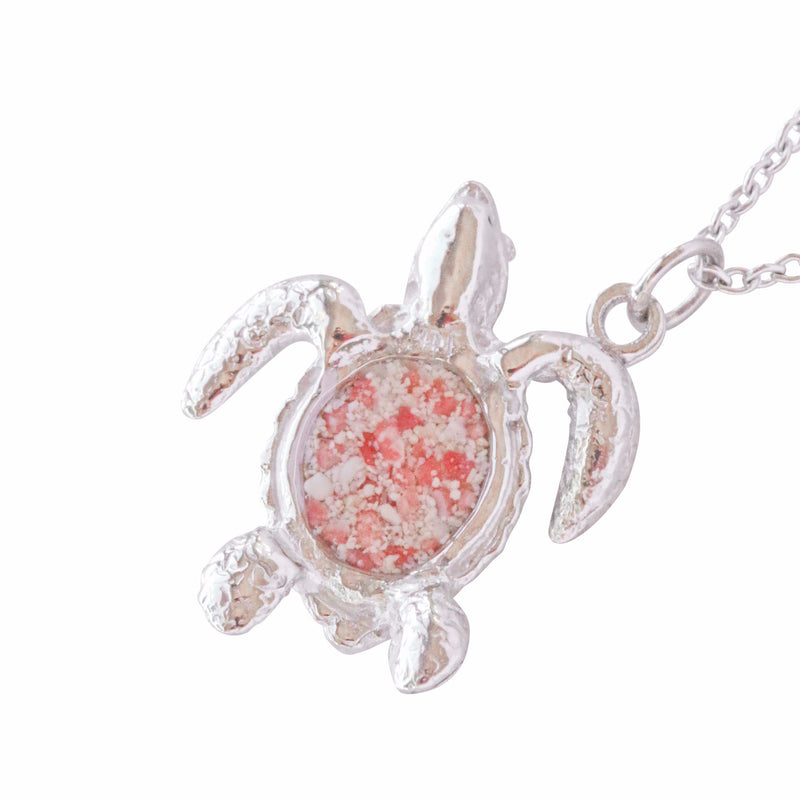 Friends ~ Turtle (Medium) Pendant - Alexandra Mosher Studio Jewellery Bermuda Fine