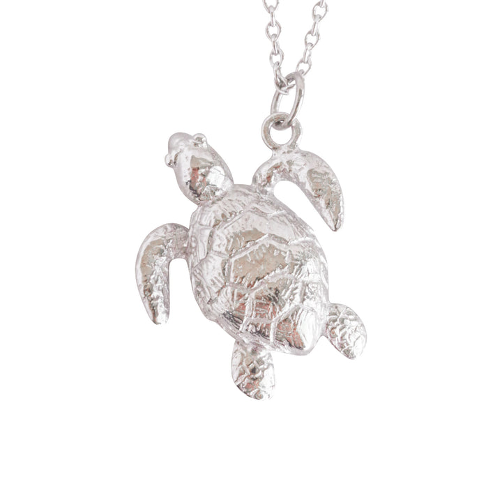 Splash Collection | Medium Turtle Pendant