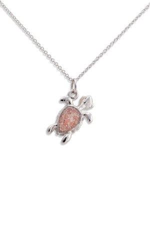 Splash Collection | 14K Small Turtle Pendant