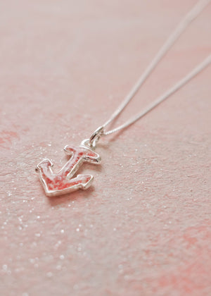 Splash Collection | Small Anchor Pendant