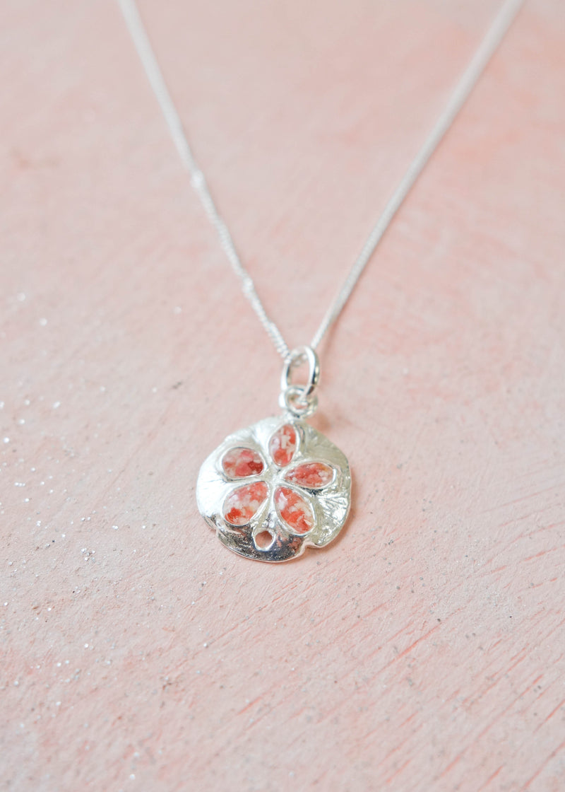 Friends ~ Sand Dollar (Small) Pendant - Alexandra Mosher Studio Jewellery Bermuda Fine