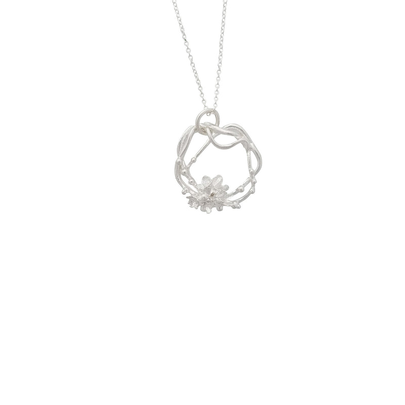 Under the Sea ~ Barnacle Wreath (Medium) Pendant - Alexandra Mosher Studio Jewellery Bermuda Fine
