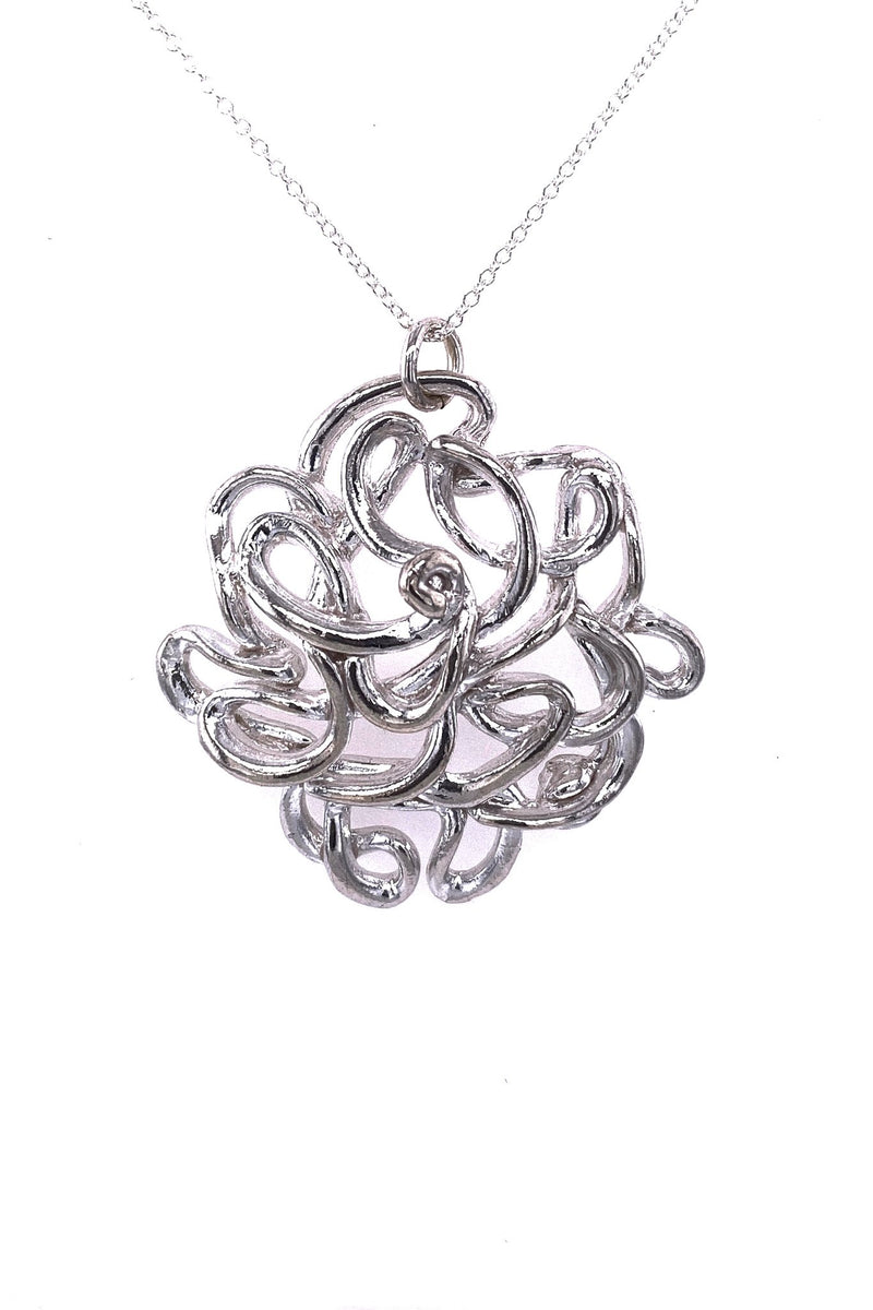 Melt ~ NeverEndingStory (Large) Pendant - Alexandra Mosher Studio Jewellery Bermuda Fine