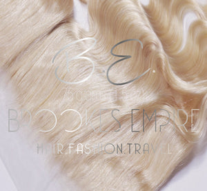 B.E. FOREVER-Virgin  Brazilian Blonde Body Wave Frontal