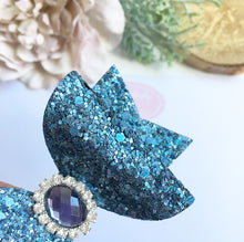 Load image into Gallery viewer, Denim fancy glitter dolly