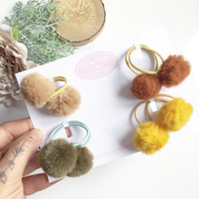 Load image into Gallery viewer, Pom Pom pigtail bobbles