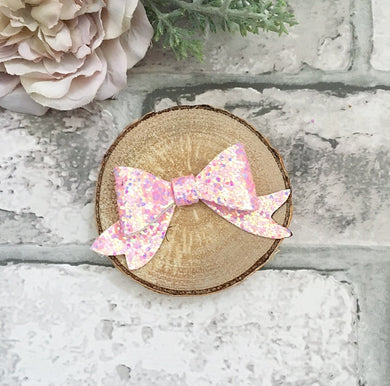 Multi pink Molly bow