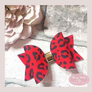 Red leopard dolly