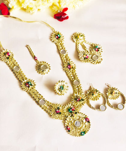 Parvati 5 pc Gotta Jewellery Set