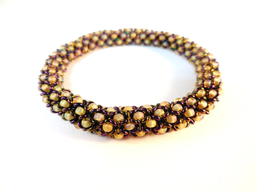 Chenille Bangle Beading Pattern