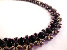 Load image into Gallery viewer, Starburst Necklace Beading Pattern