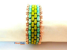 Load image into Gallery viewer, Brick Road Bracelet Beading Pattern
