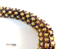 Load image into Gallery viewer, Chenille Bangle Beading Pattern