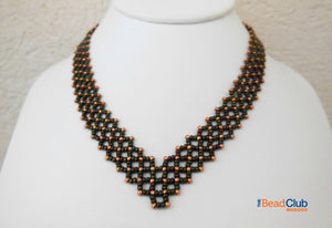 Alanis Necklace Beading Pattern