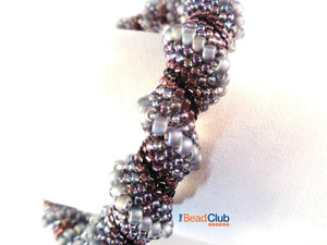 Cellini Spiral Bangle Beading Pattern