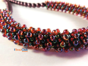 Helical Necklace Beading Pattern