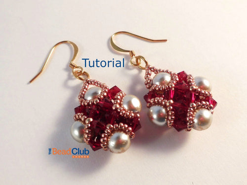 Amira Earrings Beading Pattern