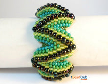 Load image into Gallery viewer, Zigzag Bracelet Beading Pattern
