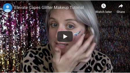 Glitter Makeup Tutorial for your night in!