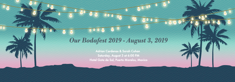 Our Bodafest Wedding Festival Invitation