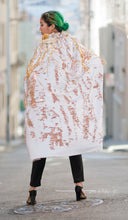 Load image into Gallery viewer, Cosmic Creature White and Rose Gold Cape