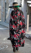 Load image into Gallery viewer, One-of-a-Kind Rumors Rose and Sequin Cape