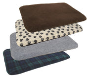 P&L Country Dog Fleece Dog Duvet with removable cover dog bed