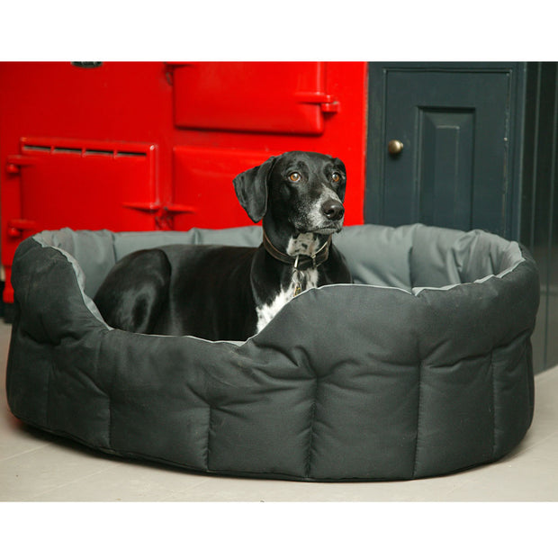 P&L Country Dog Tough Heavy Duty Oval High Sided Waterproof Dog Beds.