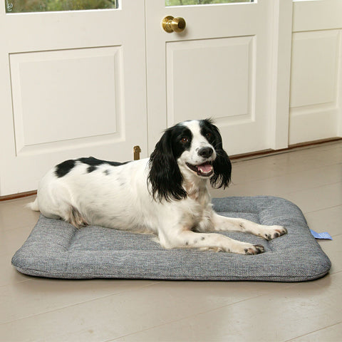 P&L Country Dog Heavy Duty Basketweave Rectangular Pad Dog Beds.