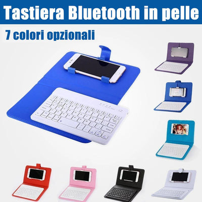 Mini tastiera Bluetooth per iPhone-Android