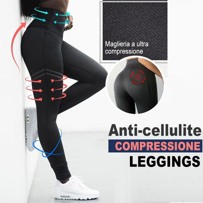 Leggings a compressione anti-cellulite