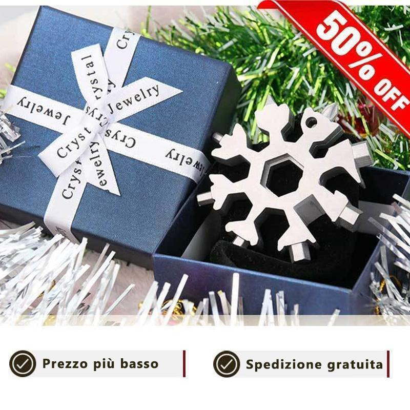 MULTI-TOOL IN STAINLESS STEEL 18-IN-1 SHAPE (Gift packaging)