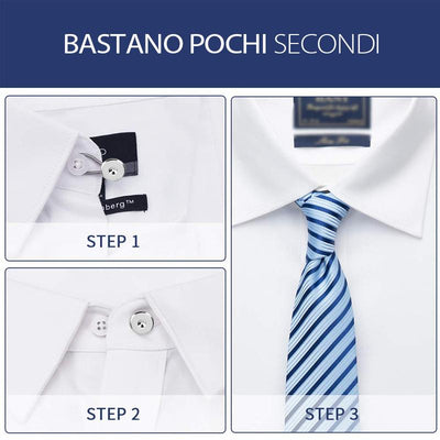 Bottoni Estensori Colletto Pantalone