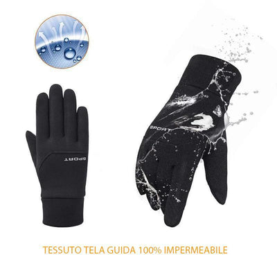 Guanti termici per touch screen
