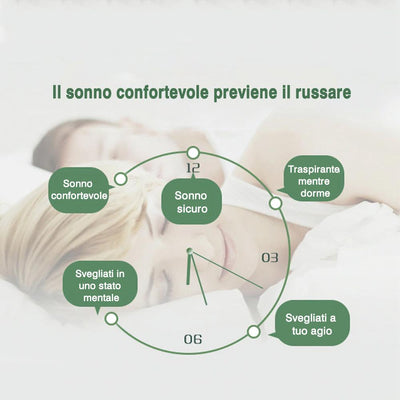 Dispositivo anti russare, 2 pz