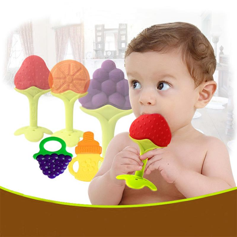 Fruit and Vegetable Silicone Infant Teether