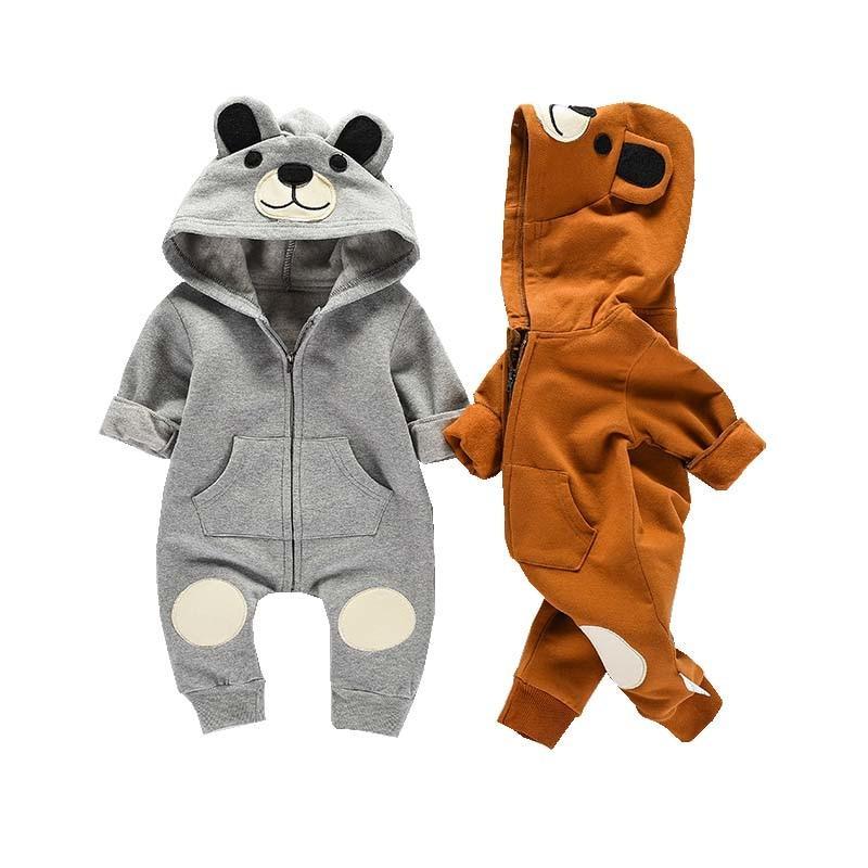 Toddler Bear Rompers